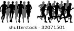 running | Shutterstock .eps vector #32071501