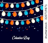 columbus day | Shutterstock .eps vector #320719871