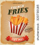 Grunge And Vintage French Frie...