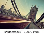 Tower Bridge And Traffic In Th...