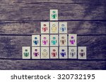 leadership  human resources and ... | Shutterstock . vector #320732195