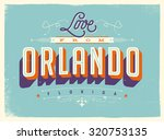 vintage style touristic... | Shutterstock .eps vector #320753135