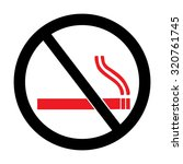 no smoking sign vector   Shutterstock .eps vector #320761745