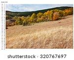 the mountain autumn landscape... | Shutterstock . vector #320767697