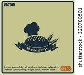 bakery graphic design   vector... | Shutterstock .eps vector #320780501