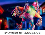 Colorful Mexican Pinata Used In ...