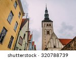 wonderful street view of old... | Shutterstock . vector #320788739