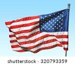 american flag. | Shutterstock . vector #320793359