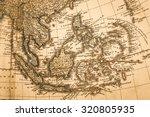 world map of antique | Shutterstock . vector #320805935