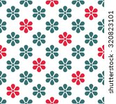 vintage floral seamless pattern ... | Shutterstock .eps vector #320823101