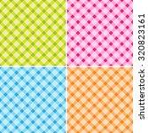 pattern cross background set... | Shutterstock .eps vector #320823161