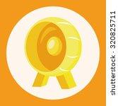 pet exercise wheel theme... | Shutterstock .eps vector #320825711
