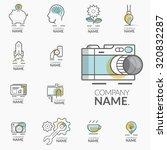 concept logos for business... | Shutterstock .eps vector #320832287