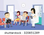 the best medical health care.... | Shutterstock .eps vector #320851289