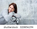 portrait of a middle aged woman ... | Shutterstock . vector #320856194