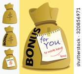the picture shows money bag... | Shutterstock .eps vector #320856971