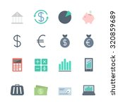 finance icons set | Shutterstock .eps vector #320859689