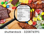 food concept   candy  chocolate ... | Shutterstock . vector #320876591