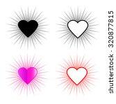 heart frame | Shutterstock .eps vector #320877815