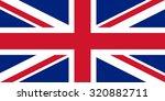 united kingdom nation flag | Shutterstock .eps vector #320882711