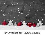 Festive Christmas Decoration On ...