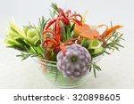 homemade unique flower shaped... | Shutterstock . vector #320898605