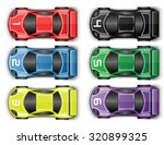 race cars tuning | Shutterstock .eps vector #320899325