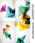 set of angle and straight lines ... | Shutterstock . vector #320905745