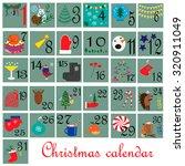 Calendar. December.