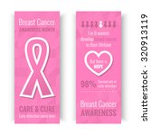 breast cancer october awareness ... | Shutterstock .eps vector #320913119