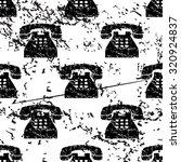 telephone pattern  grunge ...