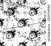 burning clock pattern  grunge ...