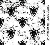 shield pattern  grunge  black...