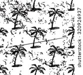 palm tree pattern  grunge ...