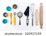 tools pastry still life   Shutterstock . vector #320927159