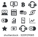 finance icon set 4  simple... | Shutterstock . vector #320929085