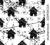 home pattern grunge  black...