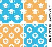 academic cap pattern set ...