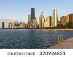 Chicago During Summer Sunrise....