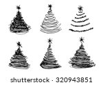 vector set of hand sketches... | Shutterstock .eps vector #320943851