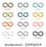 modern logo design   infinity   ... | Shutterstock .eps vector #320956019