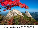 Baegundae Peak And Bukhansan...