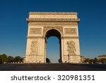 the triumphal arch   paris ...   Shutterstock . vector #320981351