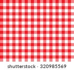 Red Table Cloth Background...