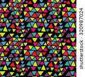 seamless triangle pattern.... | Shutterstock .eps vector #320987024