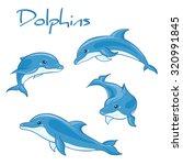 vector hand drawn set of... | Shutterstock .eps vector #320991845