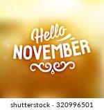 autumn abstract vector banner.... | Shutterstock .eps vector #320996501