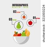 vegetarian menu design  vector... | Shutterstock .eps vector #321003224