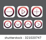 isolated app icon set. for web  ...