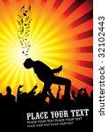invitation   flyer   Shutterstock .eps vector #32102443
